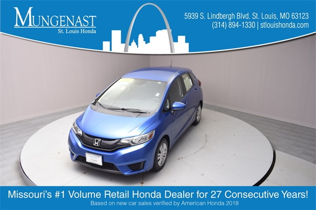 Certified Pre-Owned 2016 Honda Fit LX
